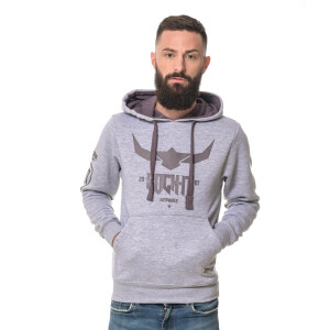 Urban grey heather hoodie
