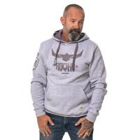 Urban grey heather hoodie