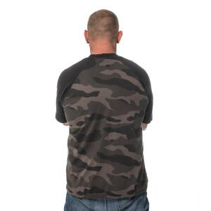 Herren blank dark camo T-Shirt