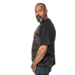 Herren blank dark camo T-Shirt  X-Large Dark Camo
