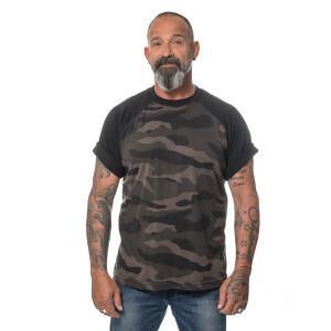 Herren blank dark camo T-Shirt  4X-Large Dark Camo