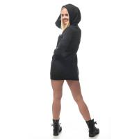 Hooded Sweater Kleid