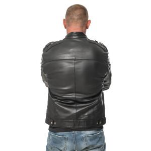 """Leather jacket """"Biker"""" by ROCK-IT Apparel®"""