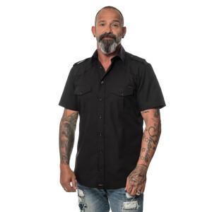 ROCK-IT - Men`s Workershirt Large Black