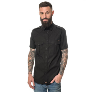 ROCK-IT - Men`s Workershirt 5X-Large Black