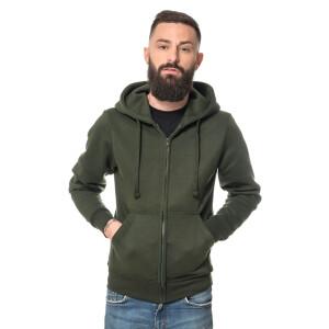 Heavy Zipped Hoodie XXL Enamel Green