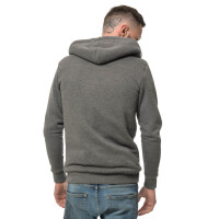 Winter zipped hoodie