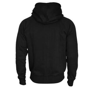 Heavy zipped hoodie slim fit