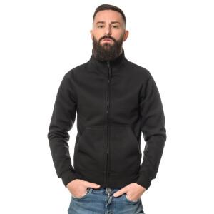 Heavy zipped Sweater XL Schwarz