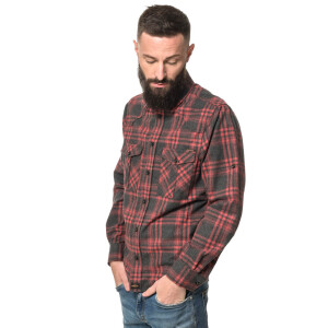 Mens Flannel Shirt Longsleeve