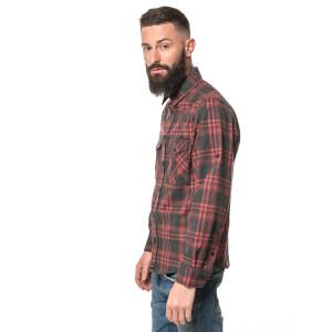 Herren Flanell Hemd langarm