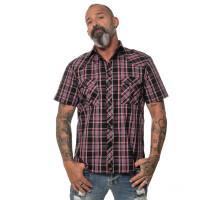 Men`s checked shortsleeve Shirt